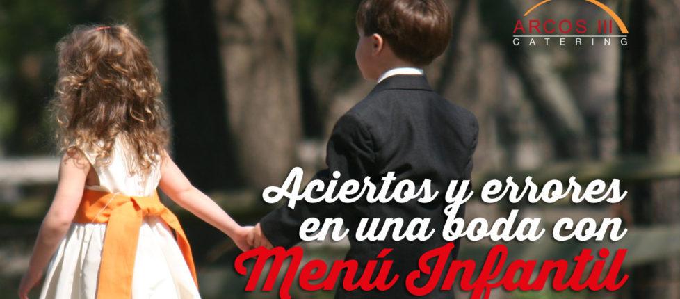 Menú Infantil Bodas Huelva